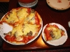 2007.11.17とってきたばかりの天然マイタケのピザ