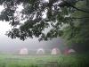 2008.08.27霧がかるテントサイト