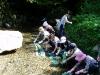 2011.09.18<藍その他天然素材で染め染めイベント>
