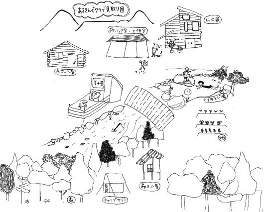 山の家見取り図